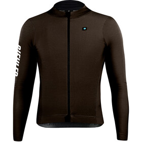 Biehler Thermal Rain LS Jersey Men, dark brown